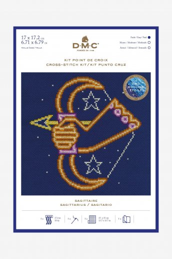 Star sign cross stitch kit - Sagittarius