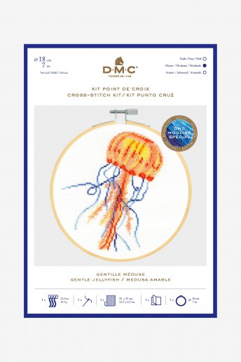 Jellyfish Cross Stitch Kit