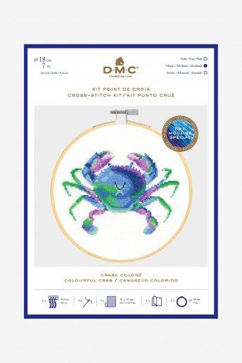 Colourful Crab Cross Stitch Kit