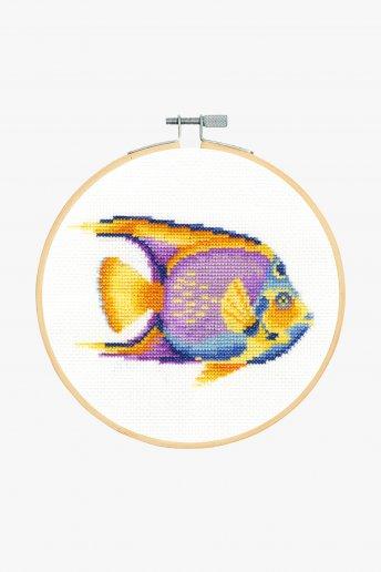 Tropical Fish Cross Stitch Kit