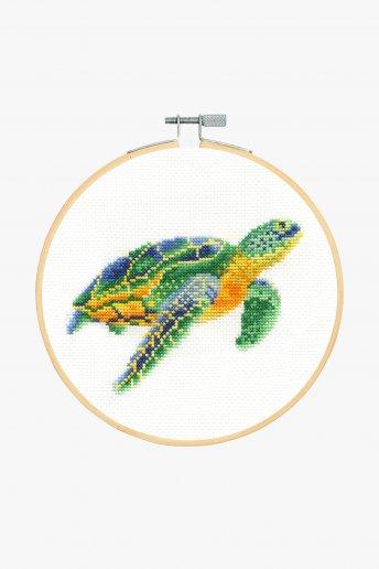 Swimming Tortoise Cross Stitch Kit