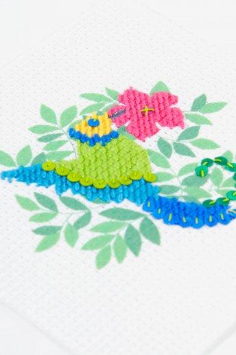 Kit meio ponto Beija-flor