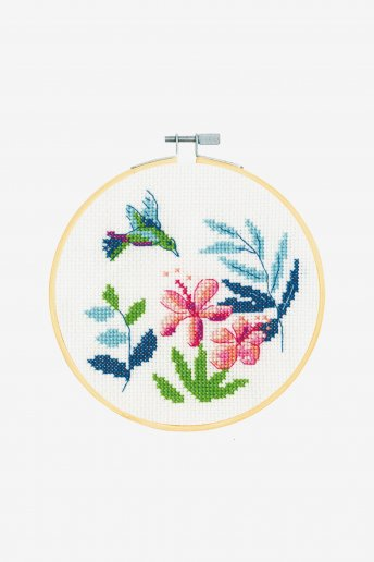 Stitch Kit XS - Exotice Flowers