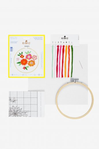 Stitch Kit XS - Japanese Flowers