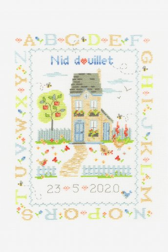 Cosy Nest Cross-Stitch Kit