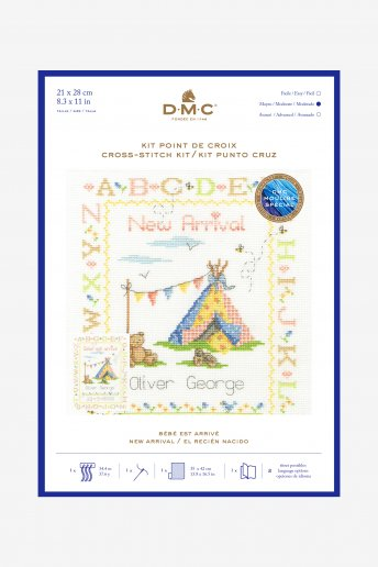Welcome To The World Cross-stitch Kit