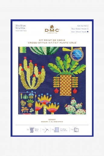 Desert Cross-stitch Kit