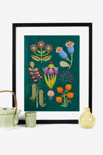 Garden Cross-stitch Kit