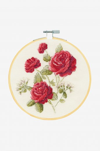 Roses Cross-stitch Kit