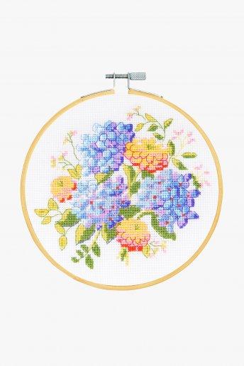 Kit Ponto de cruz Bouquet de verão