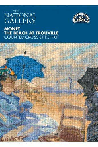 Monet The Beach at Trouville Cross Stitch Kit