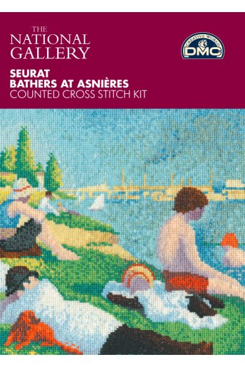 Seaurat Bathers at Asnieres Cross Stitch Kit