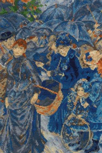 The National Gallery×DMC Cross Stitch Kits ルノワール「雨傘」