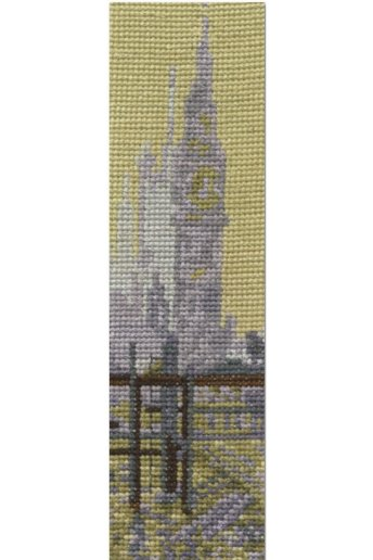 The National Gallery×DMC Mini Cross Stitch Kits クロード・モネ「ウェストミンスター橋」