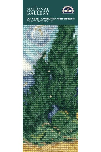Wheatfield With Cypresses Bookmark Kit