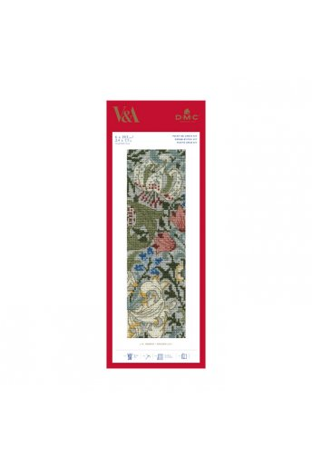 Golden Lily Cross-stitch Bookmark Kit