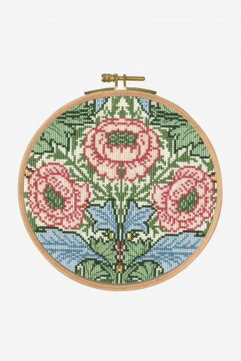 Flower and Leaves Cross-stitch Kit