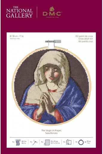 The National Gallery × DMC Cross Stitch Kits ジョバンニ・バッティスタ・サルヴィ「祈りのマドンナ」