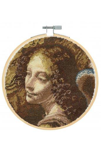 The National Gallery × DMC Cross Stitch Kits レオナルド・ダ・ヴィンチ「岩窟の聖母」