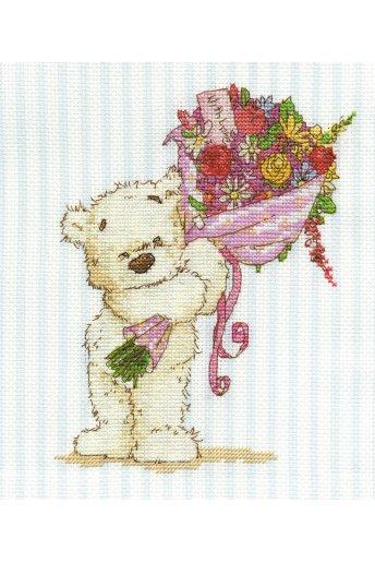 Kit unas flores para ti bl852/54