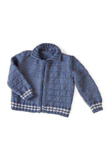 Modèle laine baby  blouson