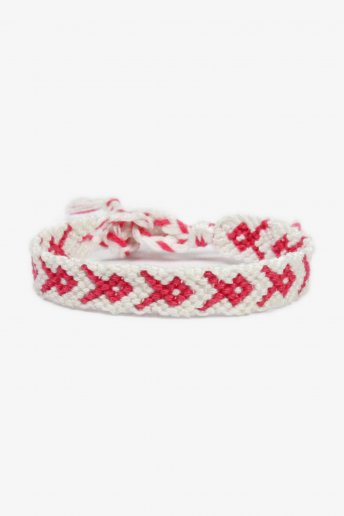 Pink Ribbon Friendship Bracelet