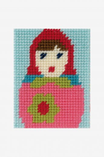 Kids Tapestry Kit -Doll