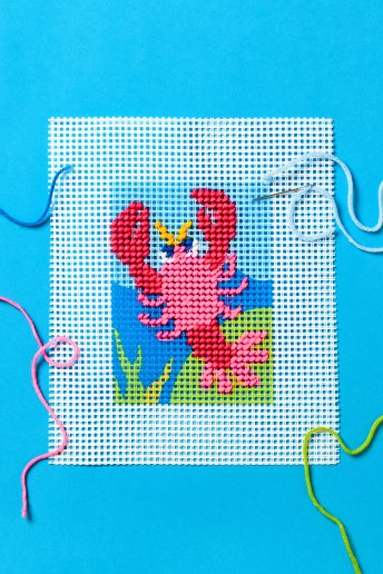 Lobster Tapestry Kit