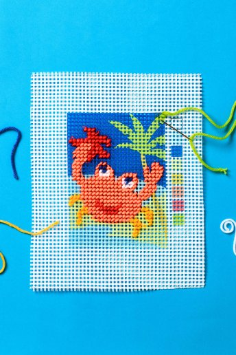 Crab Tapestry Kit