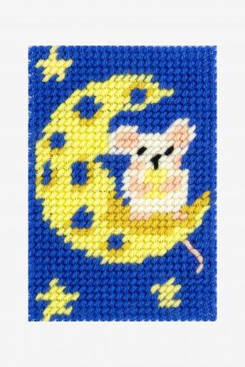 Kit tapeçaria Lua de queijo