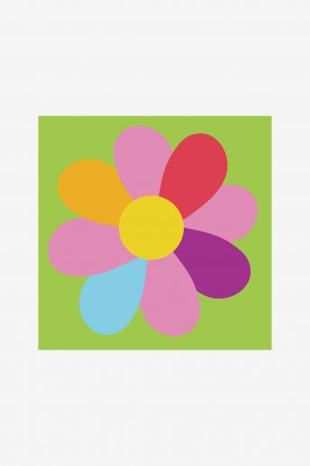 Kids Tapestry Kit - Flower