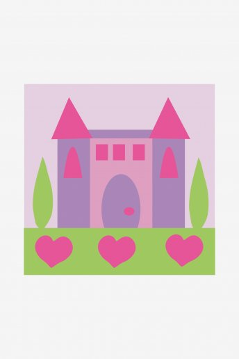 Kids Tapestry Kit - Castle