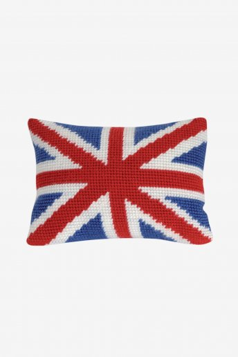 Union Jack Pillow Cover Kit