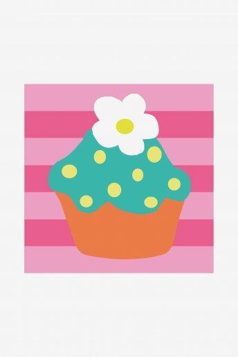 Cupcake Blumen c09n157k