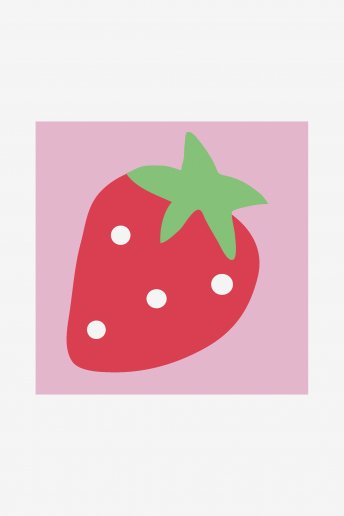 KidsTapestry Kit - Strawberry