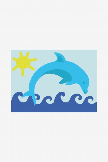 Kids Tapestry Kit - Dolphin