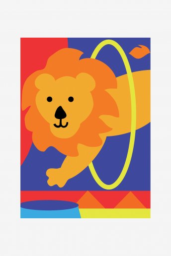 Kids Tapestry Kit - Lion