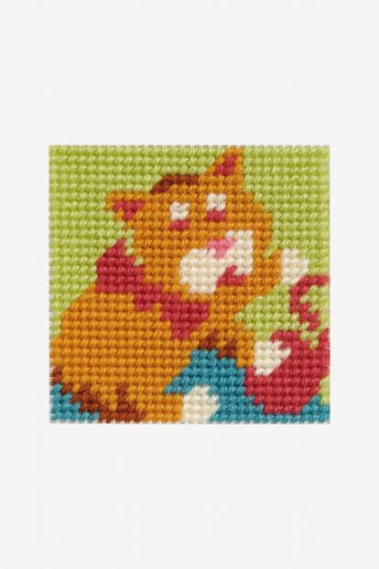 Kids Tapestry Kit- Kitten