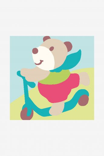 Kids Tapestry Kit - Bear