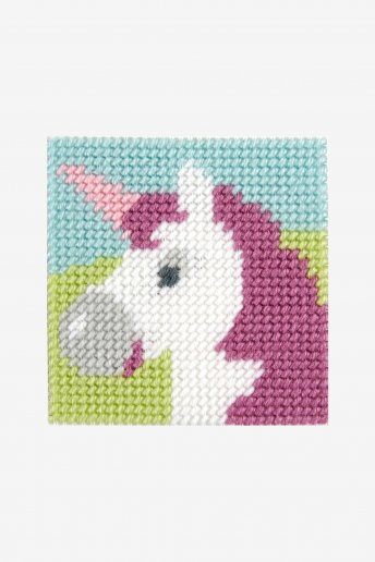 tapestry kit of a majestic unicorn