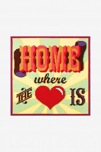 Kit tapeçaria O coração
