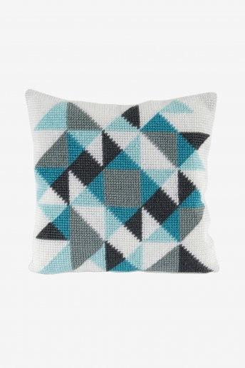 Geometric Pillow Cover Kit