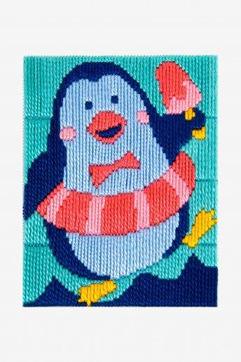 Kit ponto lançado Merlim o pinguim