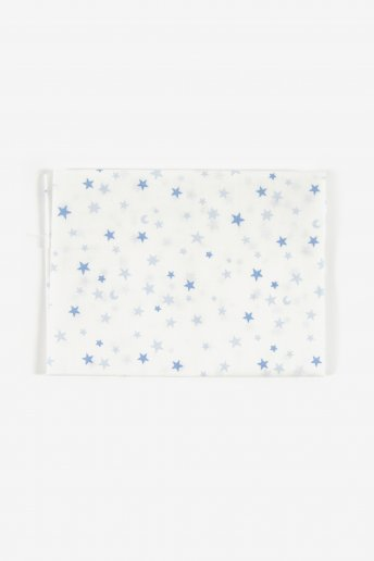 Printed cotton fabric big stars Baby Stars