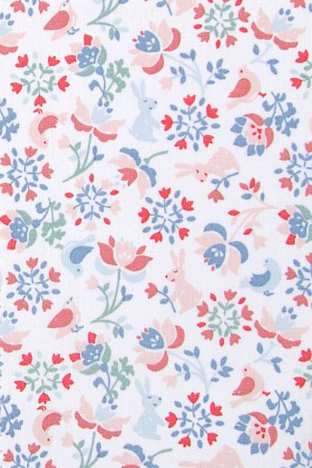 Folk patterned Fabric
