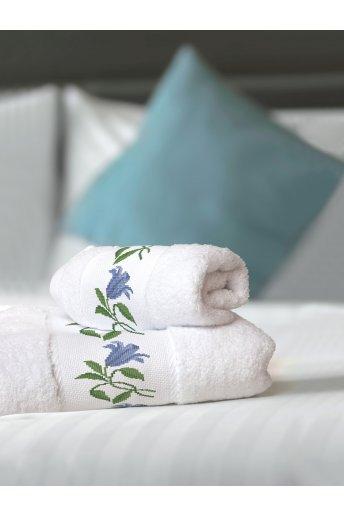 Lot de 2 serviettes éponge