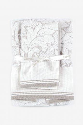 Sets de serviettes de bain coton/lin
