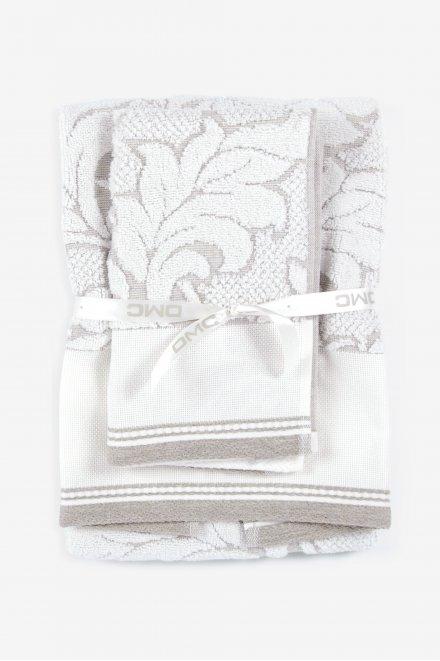 Conjunto de toalhas de banho de algodão/linho