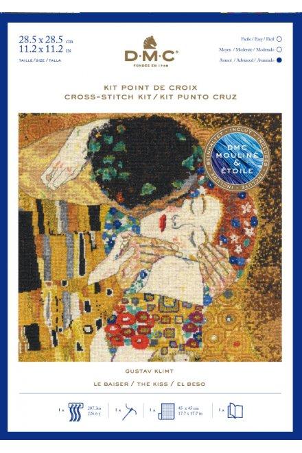 クリムト クロスステッチキット Klimt THE KISS