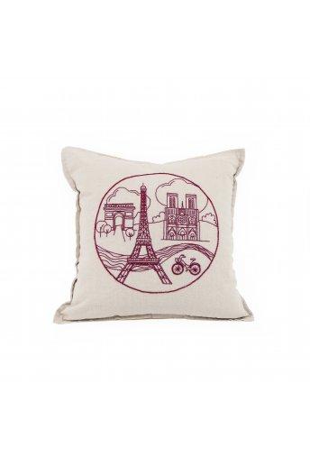 PARIS CITYSCAPE PILLOW COVER